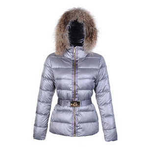 DG1157 Womens Moncler Gene omlaag Coats Light Grey [9495]