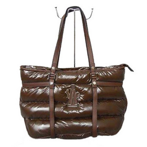 DG8923 Womens Moncler Handtas Waterdicht Leather Brown [57b3]