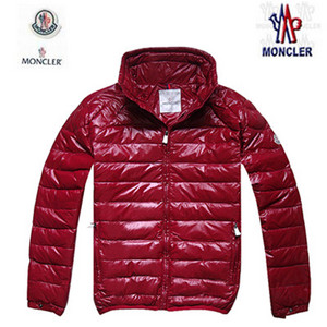 Mens Moncler Down Jacket In Red DG9676 [e176]
