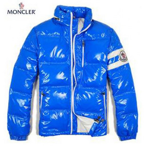 Mens Moncler Eric Down Jacket In Blue DG3446 [2281]