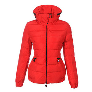 DG6937 Womens Moncler Ingericht Pack In Hood Short Jacket Red [6261]