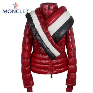 Womens Moncler Grenoble Down Jassen Red DG2235 [4189]