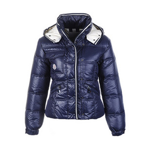 Womens Moncler Quincy Dark Blue Down Jassen DG3329 [1e1f]
