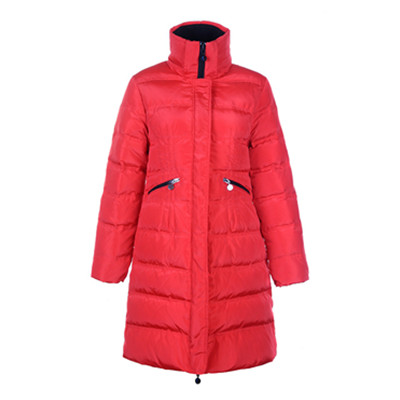 Jas For Womens Red DG7223 Moncler Vos omlaag [bb8e]